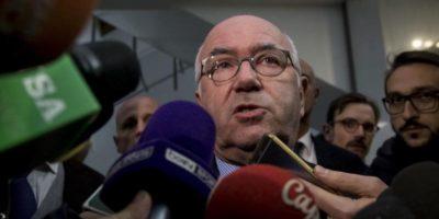 Una donna ha accusato di molestie sessuali Carlo Tavecchio, ex presidente della FIGC