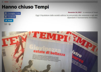 Il settimanale Tempi ricomincerà a uscire, ma come mensile disponibile solo in abbonamento