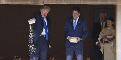 Le foto del viaggio di Trump in Asia