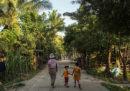 """Le foto dei villaggi del Myanmar che si proclamano """"liberi dai musulmani"""""""