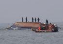 Almeno 13 persone sono morte per un incidente fra due barche in Corea del Sud