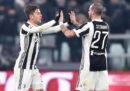 La Juventus ha eliminato il Genoa negli ottavi di finale di Coppa Italia