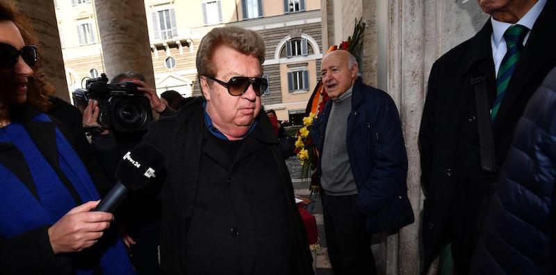 Le condizioni di Vittorio Cecchi Gori sono migliorate, dice ANSA - Il Post