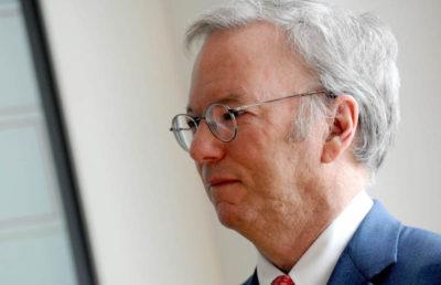 Dal prossimo gennaio Eric Schmidt non sarà più presidente del consiglio di amministrazione di Alphabet