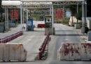 Israele ha chiuso uno dei checkpoint per entrare a Ramallah, in Palestina, dopo le proteste di questi giorni