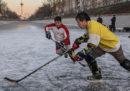 La Cina vuole imparare a giocare a hockey, da zero