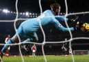 La gran partita di David De Gea in Arsenal-Manchester United