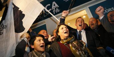 In Corsica vanno forte i nazionalisti