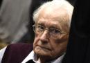 Il più alto tribunale della Germania ha rifiutato la richiesta di scarcerazione dell'ex nazista Oskar Gröning