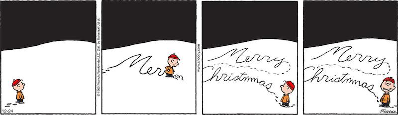 Immagini Natale Linus.Buone Feste Dai Peanuts Il Post