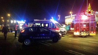 Tre ragazzi sono morti in un incidente stradale vicino a Saronno, in provincia di Varese