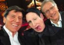 E ora esiste un selfie con Gianni Morandi, Paolo Bonolis e Marilyn Manson