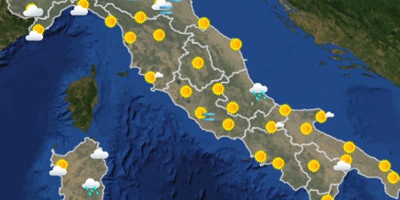 Il meteo di mercoledì 20 dicembre a Brescia e provincia