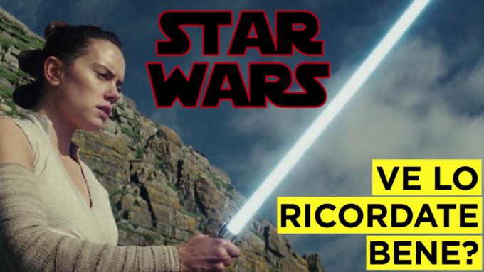 Videoripasso di Star Wars in quattro minuti