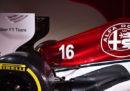 Le foto dell'Alfa Romeo che correrà in Formula 1