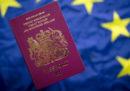 I cittadini britannici potranno entrare nell'UE anche senza visto in caso di
