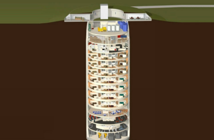 I bunker antiatomici di lusso, in Kansas
