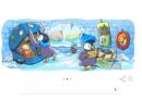"""""""Buone Feste!"""": il doodle di Google per le feste di Natale"""