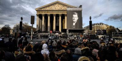 Le foto del funerale di Johnny Hallyday a Parigi