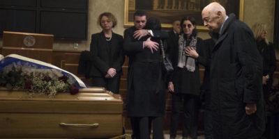 Le foto del funerale di Altero Matteoli