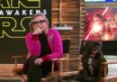 Il cane di Carrie Fisher vuole ancora bene alla principessa Leia