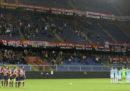 La partita di Serie A tra Genoa e Atalanta, in programma domani sera, è stata rinviata per maltempo