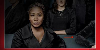 Di chi è il braccio nella copertina di Time sulla persona dell'anno del 2017