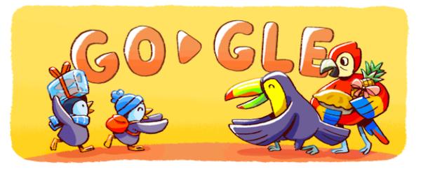 quotbuone festequot tutti i doodle di google dal 1999 a oggi