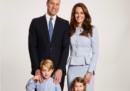 Il ritratto per le feste di Kate, William e pargoli