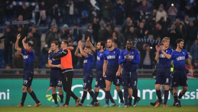 La Lazio si è qualificata alla semifinale di Coppa Italia