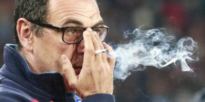 Maurizio Sarri fuma 5 pacchetti di sigarette al giorno, dice Mertens