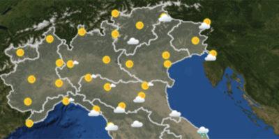 Le previsioni del tempo per domani, domenica 3 dicembre