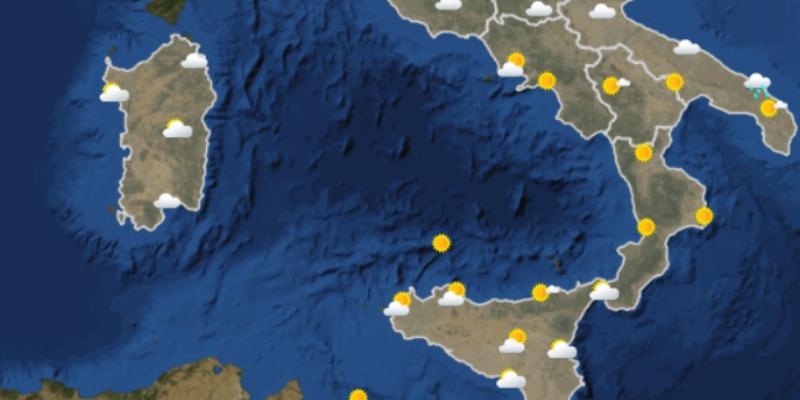 Il meteo in italia di domani mercoled 20 dicembre - Meteo bagno di romagna domani ...