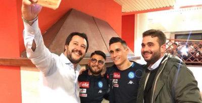 Come mai i giocatori del Napoli hanno incontrato Salvini
