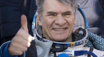 Paolo Nespoli è tornato sulla Terra