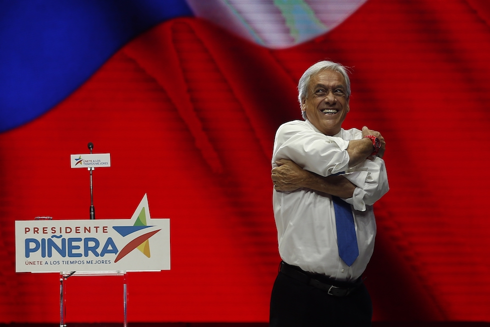 Il Cile svolta a destra: Piñera torna presidente