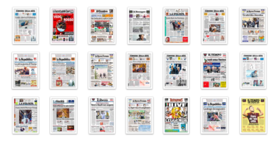 Il 2017 in 91 prime pagine