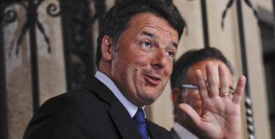 Renzi: «È evidente che il mio consenso personale non è più quello del 2014»