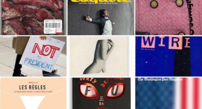 Le più belle copertine di riviste del 2017