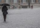 Le foto di Roma ieri sotto la pioggia