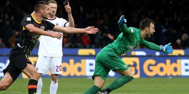 Brignoli portiere goleador: a Genova per festeggiare con la fidanzata
