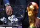 I gironi dei Mondiali 2018