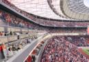 Si stanno costruendo nuovi stadi, in Italia