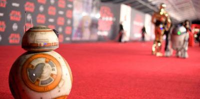 """Le foto della prima mondiale di """"Star Wars: Gli ultimi Jedi"""""""