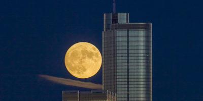 È la sera della superluna