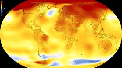 Il 2017 è stato l'anno più caldo dal 1880 | Dati NASA