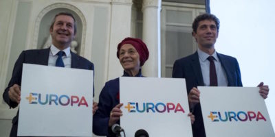 Il programma di +Europa per le elezioni 2018