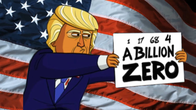 Il primo anno di Donald Trump da presidente, in cifre
