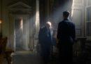 """Una scena del film """"L'ora più buia"""", su Winston Churchill"""