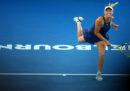 Caroline Wozniacki ha vinto il torneo femminile degli Australian Open: nella finale di Melbourne ha battuto Simona Halep